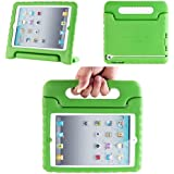 iPad Mini Case, i-Blason ArmorBox Kido Series for Apple iPad Mini 3, iPad Mini, iPad Mini with Retina Display Light Weight Super Protection Convertible Stand Cover Case for Kids Friendly (Green)