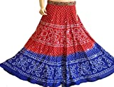 GYPSY SEQUIN BOHO BELT FULL BEADED BANDHANI SKIRT 32""