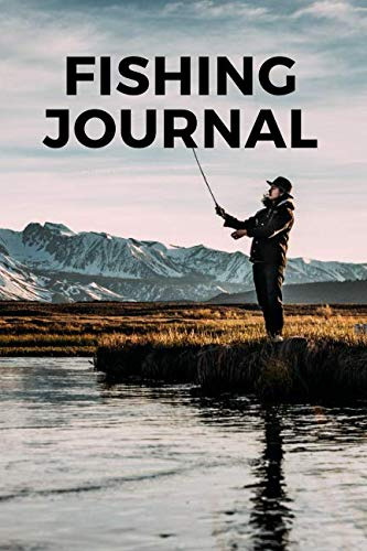 Fishing Journal: Log and record all your best fishing conditions, catches, hooks and hauls with this guide - moon phase, wind, bait, reel, rig, tackle, rod all noted in this easy template guide