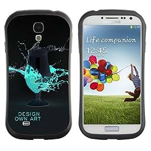 Suave TPU GEL Carcasa Funda Silicona Blando Estuche Caso de protección (para) Samsung Galaxy S4 I9500 / CECELL Phone case / / Design Own Art /