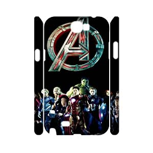 R-N-G5064218 3D Art Print Design Phone Back Case Customized Hard Shell Protection Samsung Galaxy Note 2 N7100