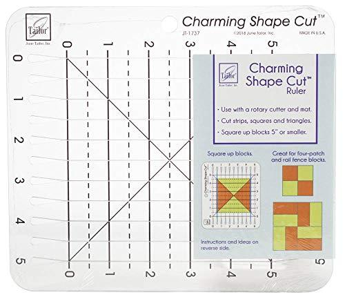 June Tailor Charming Shape Cut Ruler