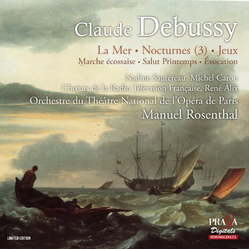 Price comparison product image Debussy: La Mer,  Salut Printemps,  Marche Ecossaise,  Invocation,  Jeux