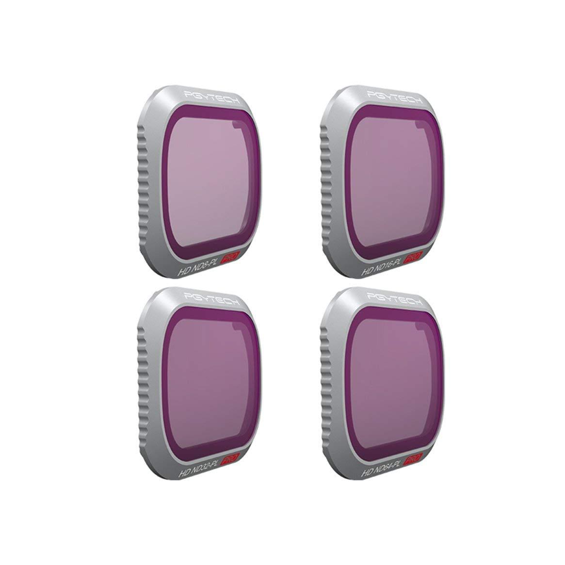 Delicacydex Zoom Camera Filters Kit Set für DJI Mavic 2 Zoom Drone Zubehör Drone Quadrotor Zubehör Teile - Schwarz