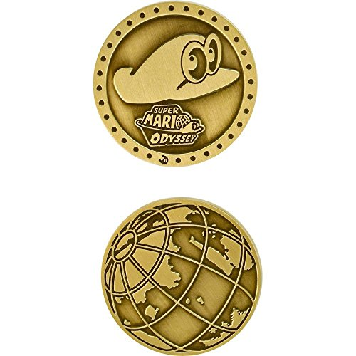 Best Buy Exclusive Nintendo Super Mario Odyssey Cappy Collectible Coin (Best Wii Exclusive Games)