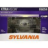 SYLVANIA H6054 XtraVision Halogen Sealed Beam Headlight 142x200, (Contains 1 Bulb)