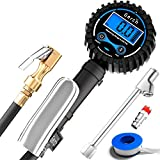 #2: Digital Tire Inflator with Pressure Gauge and Dual Air Chuck - Elongated 24