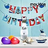 mockins Set of 12 | 17 oz Glass Bottle Set with