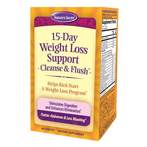 15-Day Cleanse & Flush by Nature's Secret| Reduces Bloating and Stimulates Digestion, Healthy Weight Management, 60…