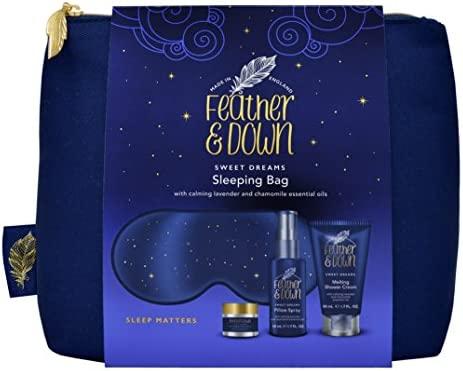 Amazon.com: Saco de dormir de plumón y plumas Set de regalo ...
