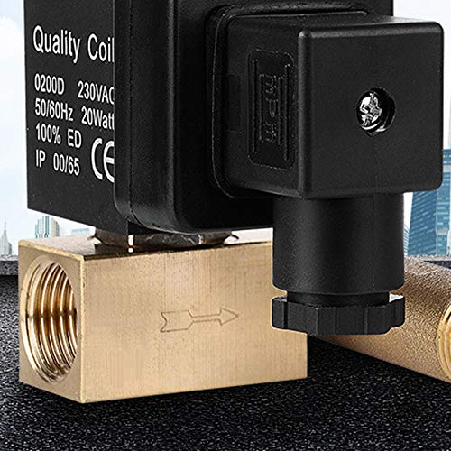 Lopbinte 1//2 Dn15 Electric Timer Auto Water Valve Solenoid Electronic Drain Valve for Air Compressor Condensate
