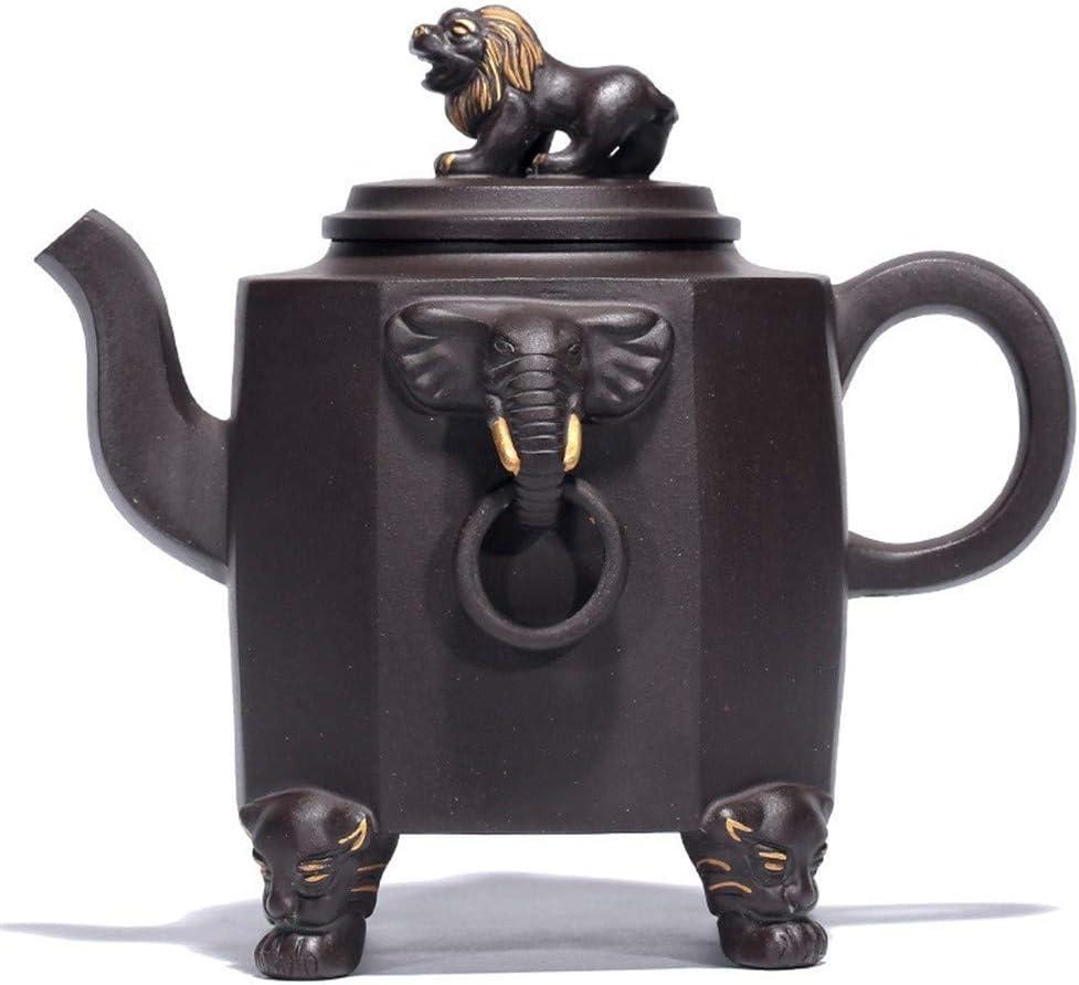 ZJN-JN キントー ティーポット 高級感 おしゃれ プレゼント 王は黒泥月間は、本物のハンドレッドのティーポットティーポット鉱石トール宜興茶を歩きます 贈り物