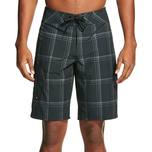 [Men's Board Shorts Ebony - Mossimo Supply Co., Black (34)] (Mossimo Black Belt)