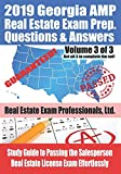 2019 Georgia AMP Real Estate Exam Prep Questions and Answers: Study Guide to