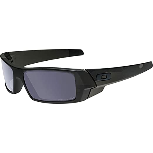 a3ef6cade8 Amazon.com: Oakley Men's Gascan Polarized Rectangular Sunglasses, Matte  Black, 60 mm: Clothing