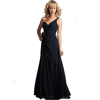 Wedding Family Womens Chiffon Evening Dress Prom Dress (Us size ...