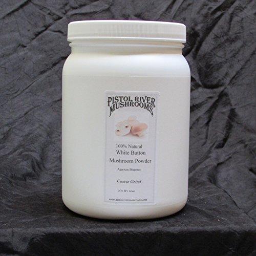 White Button Mushroom Powder 16oz Fine (16oz Fine)