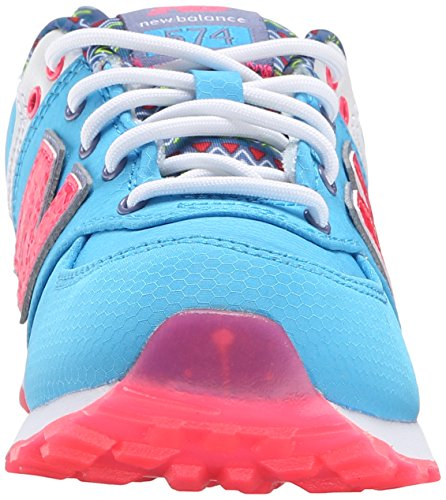 New Balance KL574P Street Beat Running Shoe (Little Kid) Light Blue/Blue