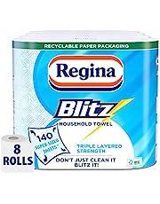 Regina Blitz domowe ręczniki do rąk, 4 sztuki, łącznie 8