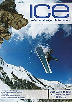 ICE A4 150gsm Gloss Photo Paper 50, 100 Sheets