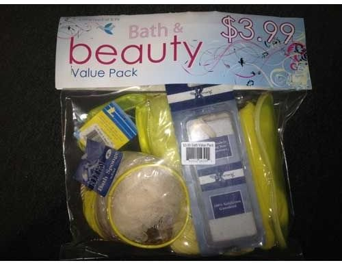 Bath + Beauty Packs 12 pcs sku# 1161188MA by DDI