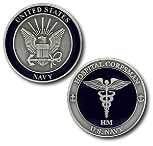 U.S. Navy Hospital Corpsman Challenge Coin