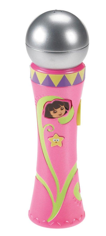 Fisher-Price Dora the Explorer Tunes Microphone Nickelodeon R4588 CA-R4588