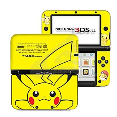 Amazon pokemon pikachu yellow 2 limited edition vinyl skin pokemon pikachu yellow 2 limited edition vinyl skin sticker decal cover for nintendo 3ds xl ll console system by ci yu online publicscrutiny Image collections