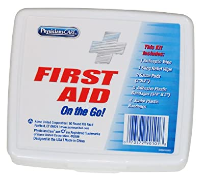 PhysiciansCare First Aid On The Go Kit, 13 Count from PhysiciansCare