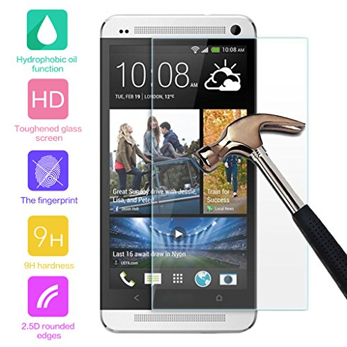 0.3mm Tempered Glass Screen Protector for HTC One E8 - 4