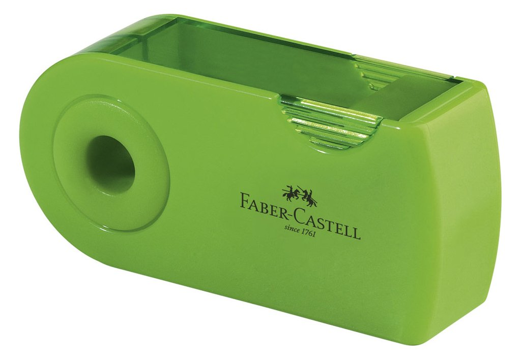 Faber-Castell 217066 hellgr/ün Schulset Sleeve gro/ß 6-teilig mit Lineal