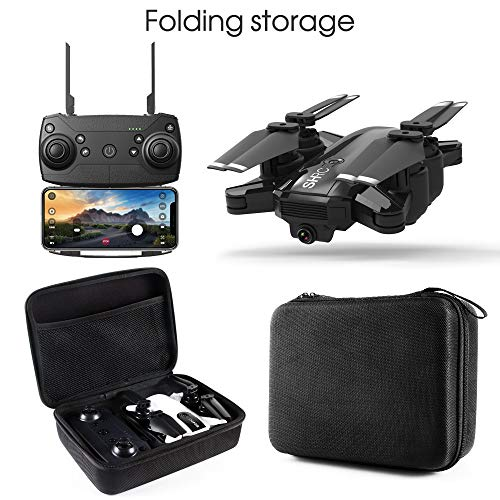 LikeroDrone x pro 5G Selfi WiFi FPV GPS,with 1080P HD Camera,Foldable RC Quadcopter,Beginners-Controlled Through The Mobile Phone App-One-Key Start&one-Key Landing (Black) by Likero (Image #1)
