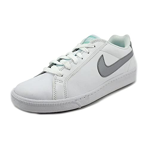 best service a0adf 490f0 Nike Womens Court Majestic WhiteWolf GreyArtisan Teal Ankle-High Suede  Fashion Sneaker - 8M Buy Online at Low Prices in India - Amazon.in