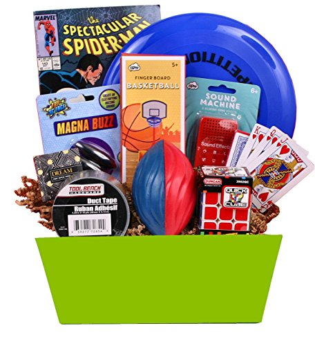 Fanfare Gift (Teen Scene - Boy's Birthday or Special Occasion Gift Basket Includes Marvel Comic Book, Fart Fanfare Sound Effects and More)