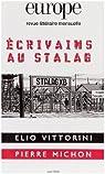 Europe, N° 948 : Ecrivains au stalag par Europe