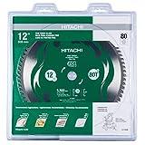 """Hitachi 115436 12"""" 80T Fine Finish VPR Miter Saw"""