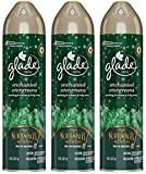 Glade Air Freshener Spray - Holiday Collection 2018 - Enchanted Evergreens - Net Wt. 8 OZ (227 g) Per Can - Pack of 3 Cans