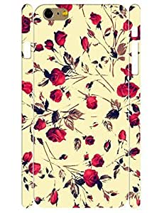 3D Print Retro Roses Pattern Flower Design Handmade Cell Phone Protective Cover Case for Iphone 6 Plus 5.5 Inch
