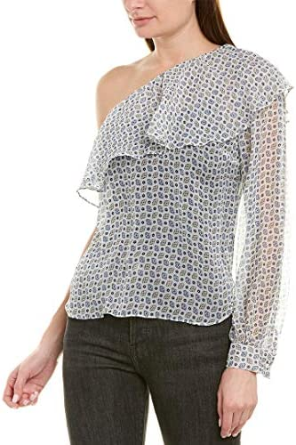 The Kooples Graphic Flowers Silk Top / The Kooples Graphic Flowers Silk Top