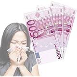 OUT OF THE BLUE KG - 10 PAÃ'UELOS DE BILLETES DE EURO 500