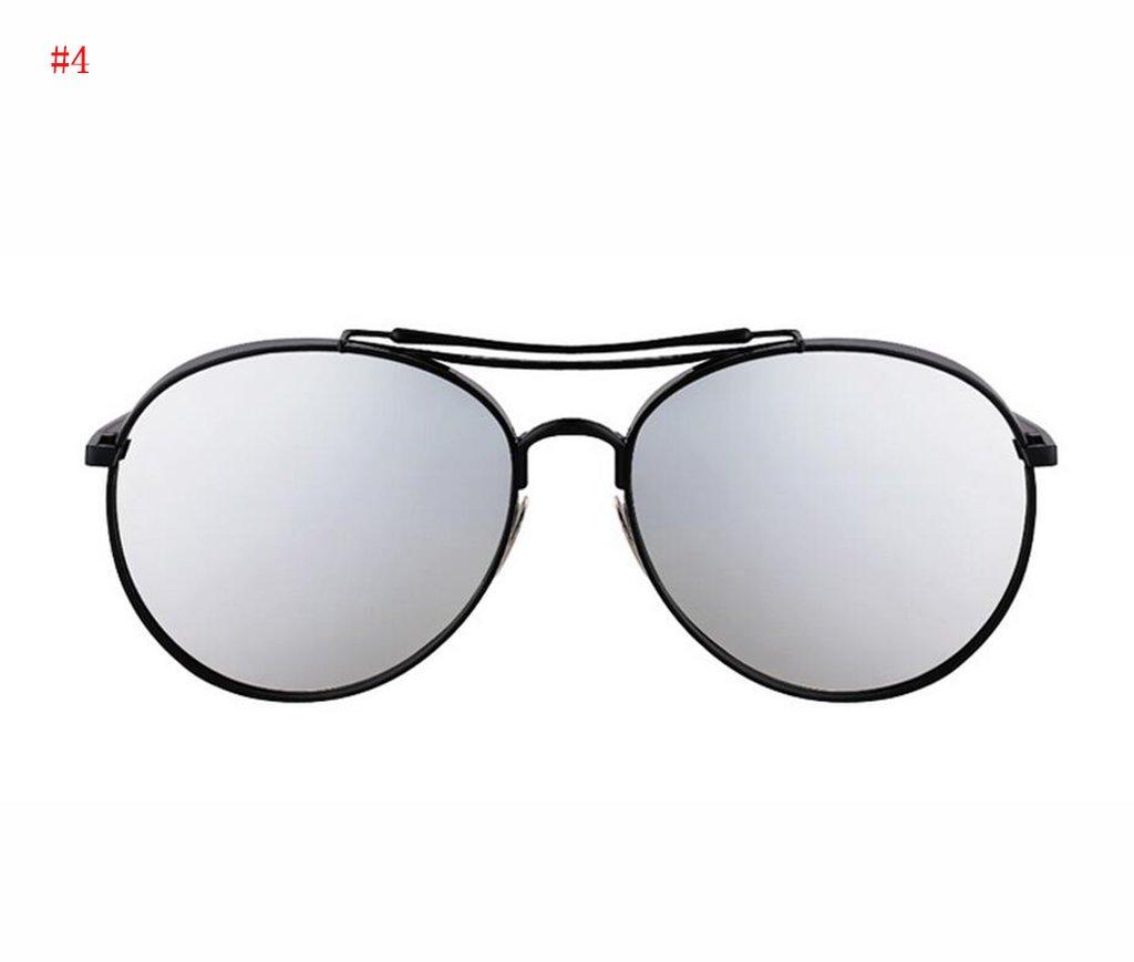 Flashing- la mode des lunettes de soleil à la mode rétro lunettes de soleil de mode lunettes de soleil polarisées Mme ( Couleur : #4 ) N3279YS7gm