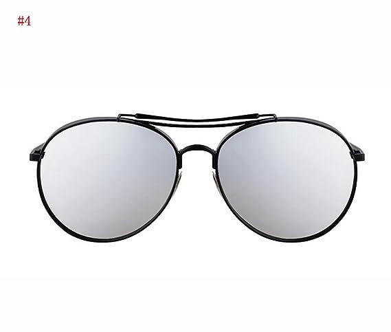 Flashing- la mode des lunettes de soleil à la mode rétro lunettes de soleil de mode lunettes de soleil polarisées Mme ( Couleur : #5 ) ayQ26