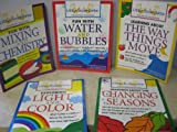 img - for Little Scientists Hands on Activities Complete Set (5 titles) Changing Seasons, Mixing & Chemistry, Water & Bubbles, Light & Color, & The Way Things Move [2000] book / textbook / text book