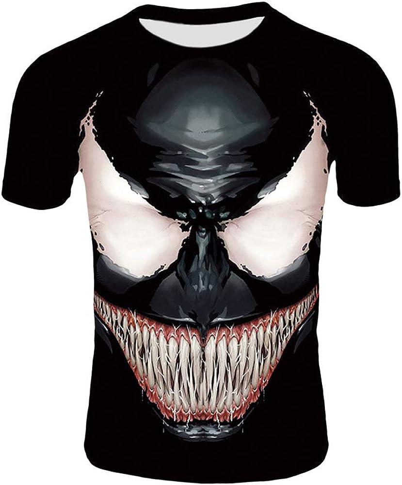 Venom Camiseta Primavera y Verano New Boy algodón Cuello ...