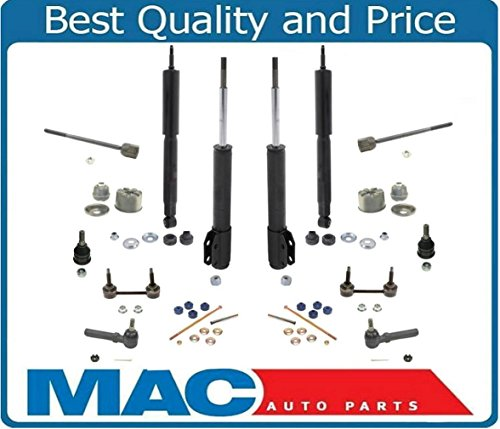 Mac Auto Parts 139624 Mustang & Mustang GT Front Struts Shocks Mounts 16Pc Chassis Kit