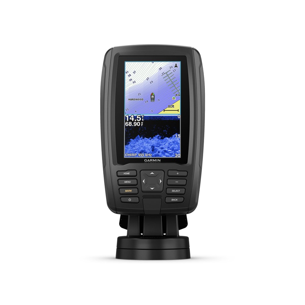 Garmin 010-01885-01 Echomap Plus 43Cv with Cv20-TM transducer, 4.3 inches
