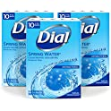 3-Pack Dial Soap Bar Spring Water 4 Oz 10 Ct