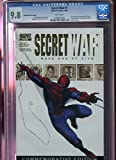 #8: 2004 Marvel Secret War 4/04 #1 Gold Foil CGC 9.8 Graded Comic Book Spider-Man