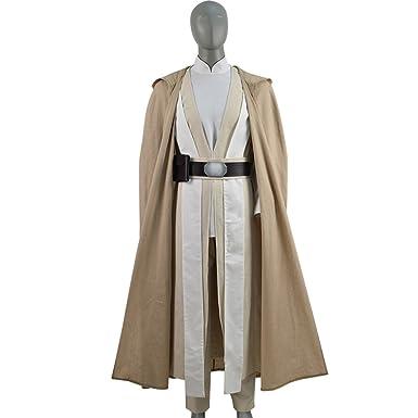 amazon com fanerr luke skywalker jedi costume outfit cosplay