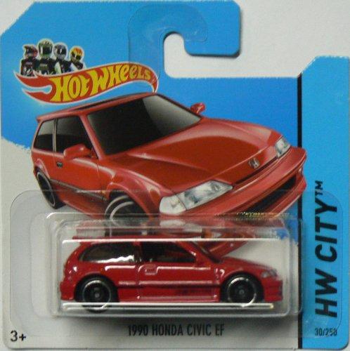 Hot Bodies Honda (2014 Hot Wheels Hw City 30/250 - 1990 Honda Civic EF)